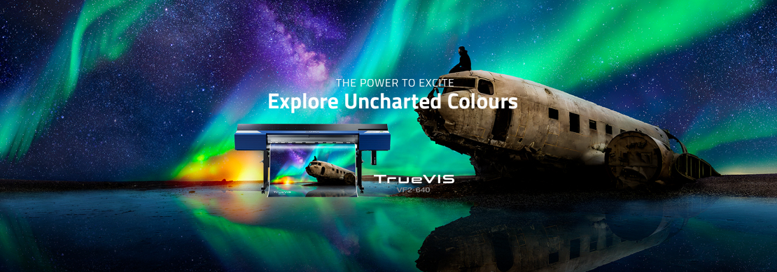 Roland DG TrueVIS VF2-640 Explore Uncharted Colours