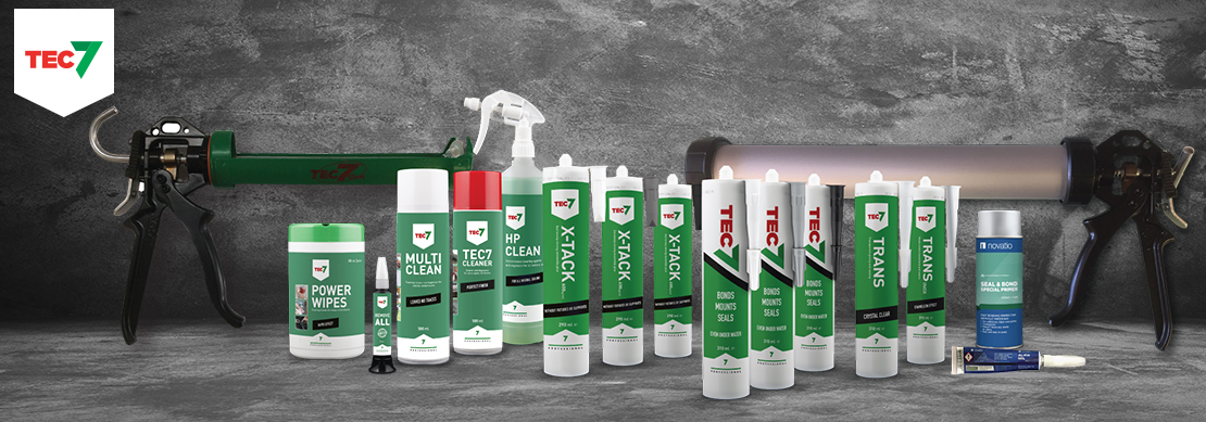 Tec 7 Adhesives, Sealants, Cleaners and Tools