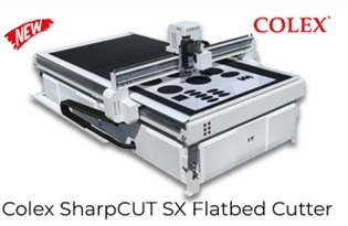 New Product Alert! Introducing Colex SharpCUT SX Flatbed Cutter