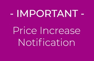 Price Increase Notification - May 2020