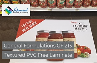 Product Focus: General Formulations GF 213 Textured PVC Free Laminate