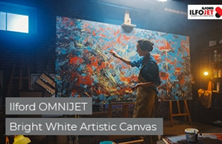 Product Focus: Ilford OMNIJET Bright White Artist Canvas