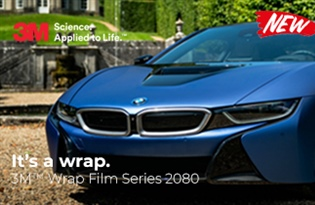 New Product Alert! Introducing 3M Wrap Film Series 2080